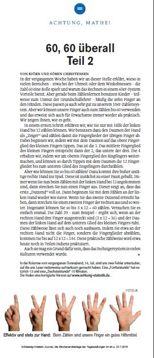 Achtung-Statistik - 23.7.2016